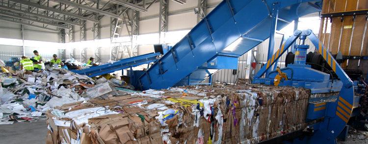 Non Metallic Waste Baling Plant