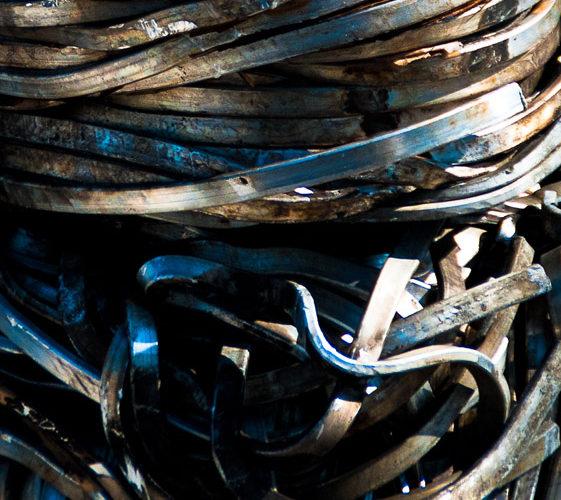 Ferrous waste